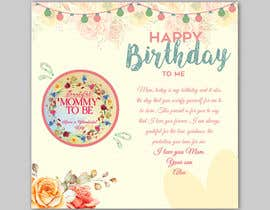 #43 for Desgin a card for Happy Birthday to Me af trupstech