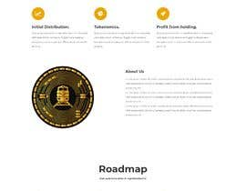 #25 for Website for our Crypto Token (train rails) by shahibur55