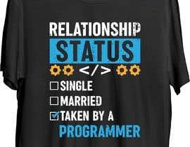 #159 for Create an ORIGINAL funny t shirt design for programmers af nhemonika72