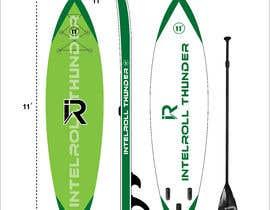 Nro 18 kilpailuun Paddleboard Design käyttäjältä FaridKhan039