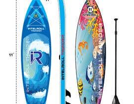 Nro 19 kilpailuun Paddleboard Design käyttäjältä FaridKhan039