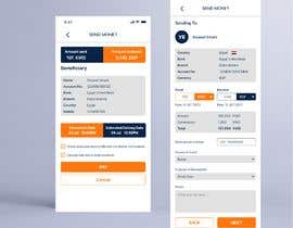 Nro 25 kilpailuun Design 2 pages for mobile app käyttäjältä malekAs