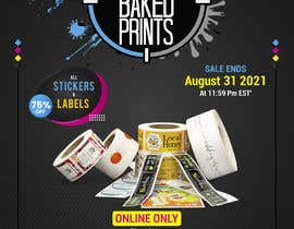 Nro 211 kilpailuun Social Media Sticker Discount Flyer -Gene käyttäjältä ahmedfarid6162