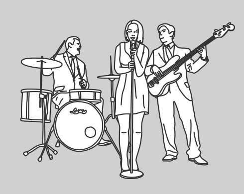 Contest Entry #                                        11                                      for                                         A simple illustration of a band