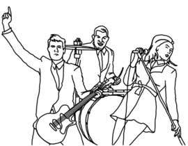 #5 for A simple illustration of a band af fabioandrade