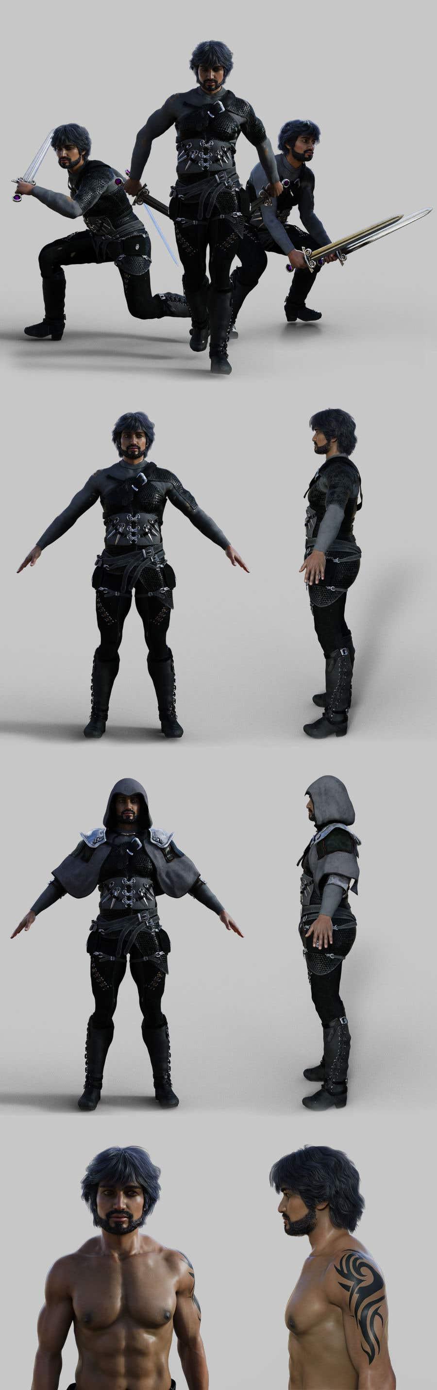 Penyertaan Peraduan #                                        31                                      untuk                                         Real 3D character