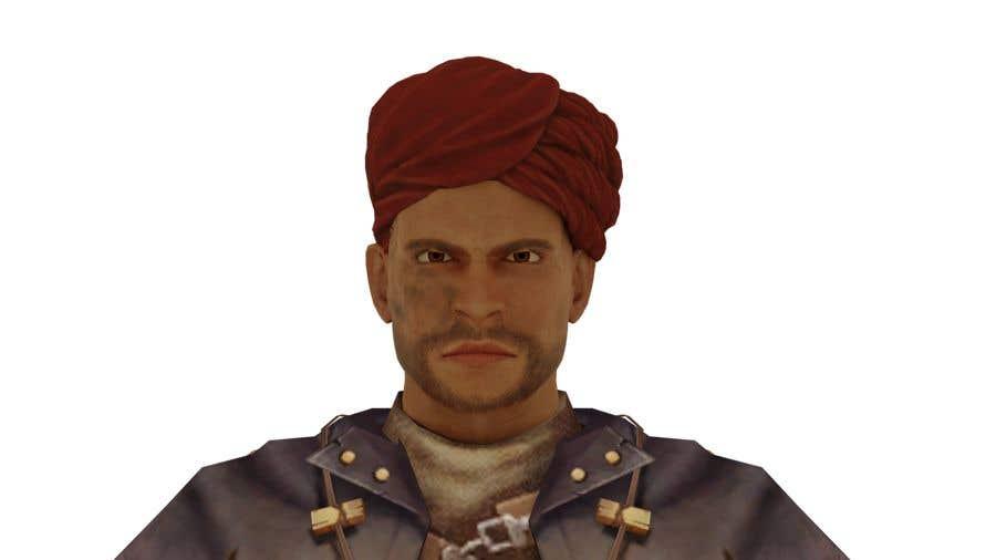 Penyertaan Peraduan #                                        57                                      untuk                                         Real 3D character
