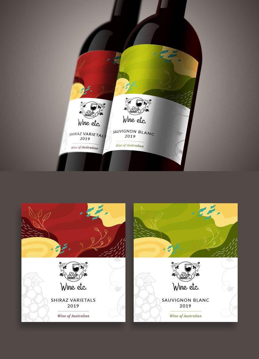 Proposition n°                                        24                                      du concours                                         Design a wine label series