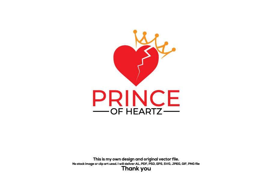 "Contest Entry #                                        262                                      for                                         ""Prince of Heartz"" Logo Concept"