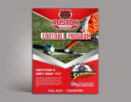 #20 for Create a Football program ad for our business by usaithub