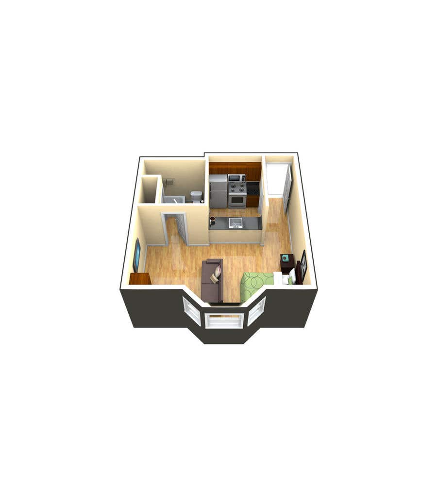 Proposition n°                                        34                                      du concours                                         Design a Studio Flat made out of a Shipping Container