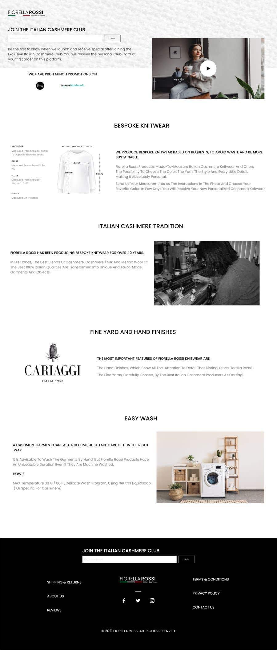Конкурсная заявка №                                        22                                      для                                         Easy: just a Homepage design contest with Adobe XD