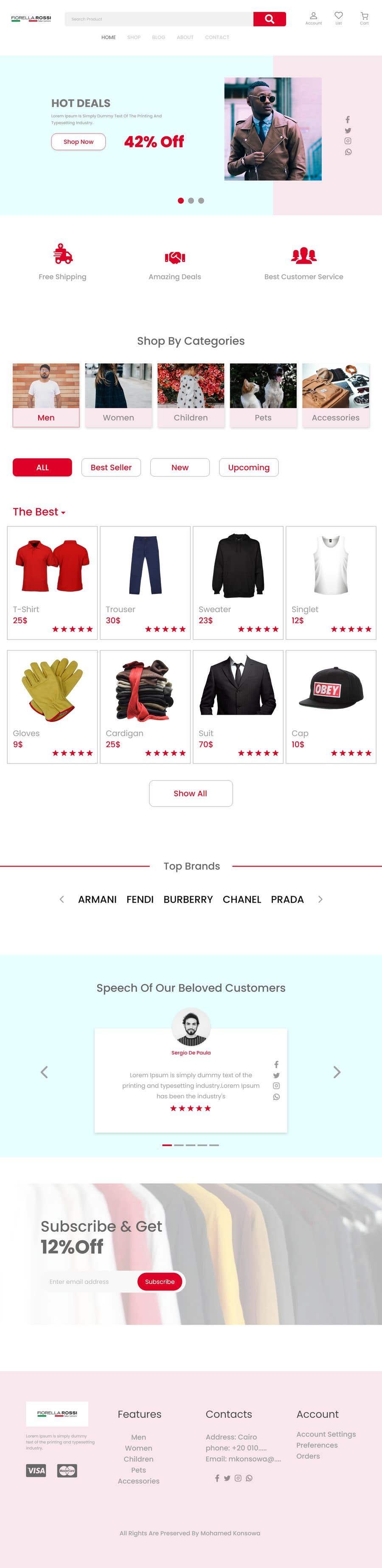 Конкурсная заявка №                                        9                                      для                                         Easy: just a Homepage design contest with Adobe XD