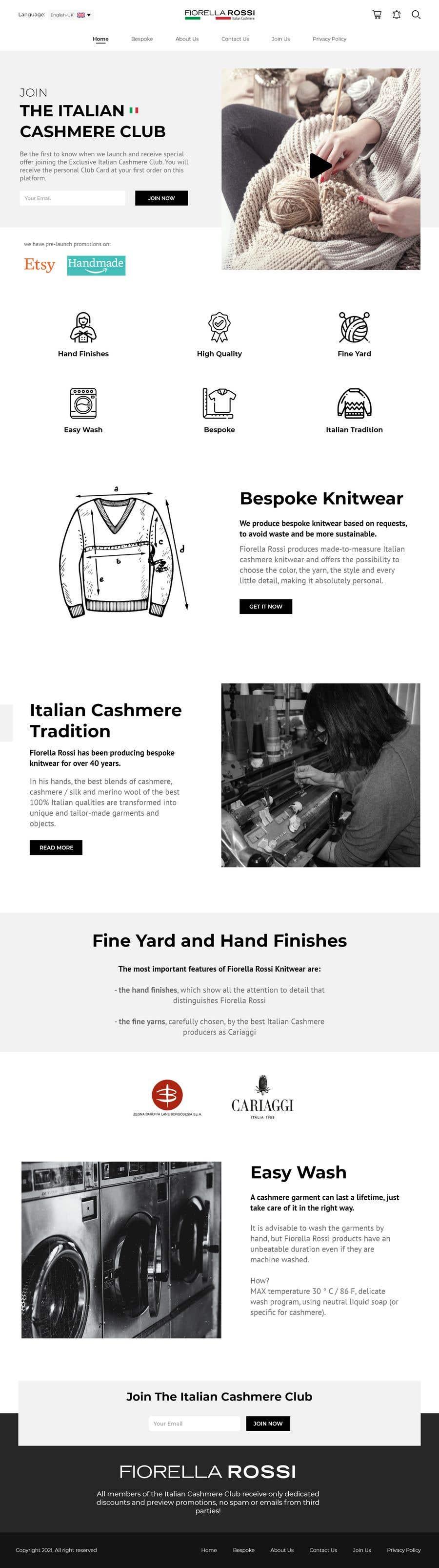 Конкурсная заявка №                                        44                                      для                                         Easy: just a Homepage design contest with Adobe XD