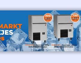 #61 para Website Banner (Ristormarkt Ice Cube Machines) por begummohima5456