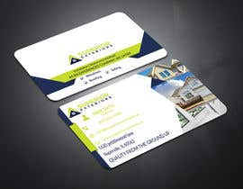 #635 for business cards for roofing company by sakilagraphics