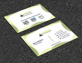 #632 for business cards for roofing company by AfsanaNurBithi