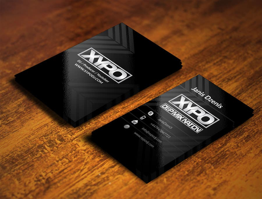 Contest Entry #76 for BUSINESS CARD DESIGN