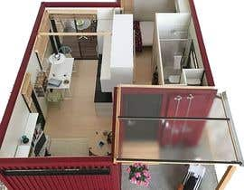 #20 for Design a minimalistic home exterior design as per the attached floor plan. af Nir0shan