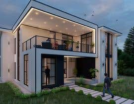 #14 for Design a minimalistic home exterior design as per the attached floor plan. af aliarchviz96