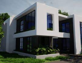 #21 for Design a minimalistic home exterior design as per the attached floor plan. af SsArchInt