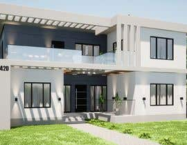 #28 for Design a minimalistic home exterior design as per the attached floor plan. af dellabiancard2
