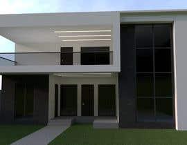 #10 for Design a minimalistic home exterior design as per the attached floor plan. af MatiasFontecilla