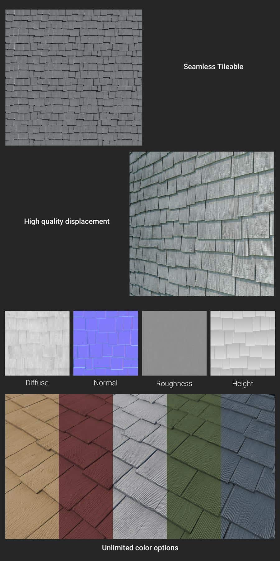 Kilpailutyö #                                        50                                      kilpailussa                                         Create A seamless PBR Texture