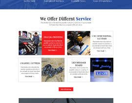 #47 for Wordpress front page theme with 3 inner pages. by Muzeative