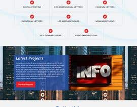 #34 for Wordpress front page theme with 3 inner pages. by khubaib411