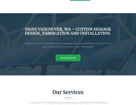 #10 for Wordpress front page theme with 3 inner pages. by nasima07