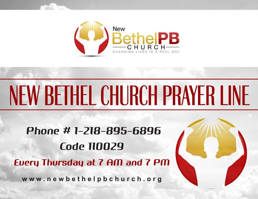 Konkurrenceindlæg #1 for Prayer Line Flyer