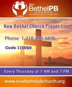 #11 untuk Prayer Line Flyer oleh ramiessef