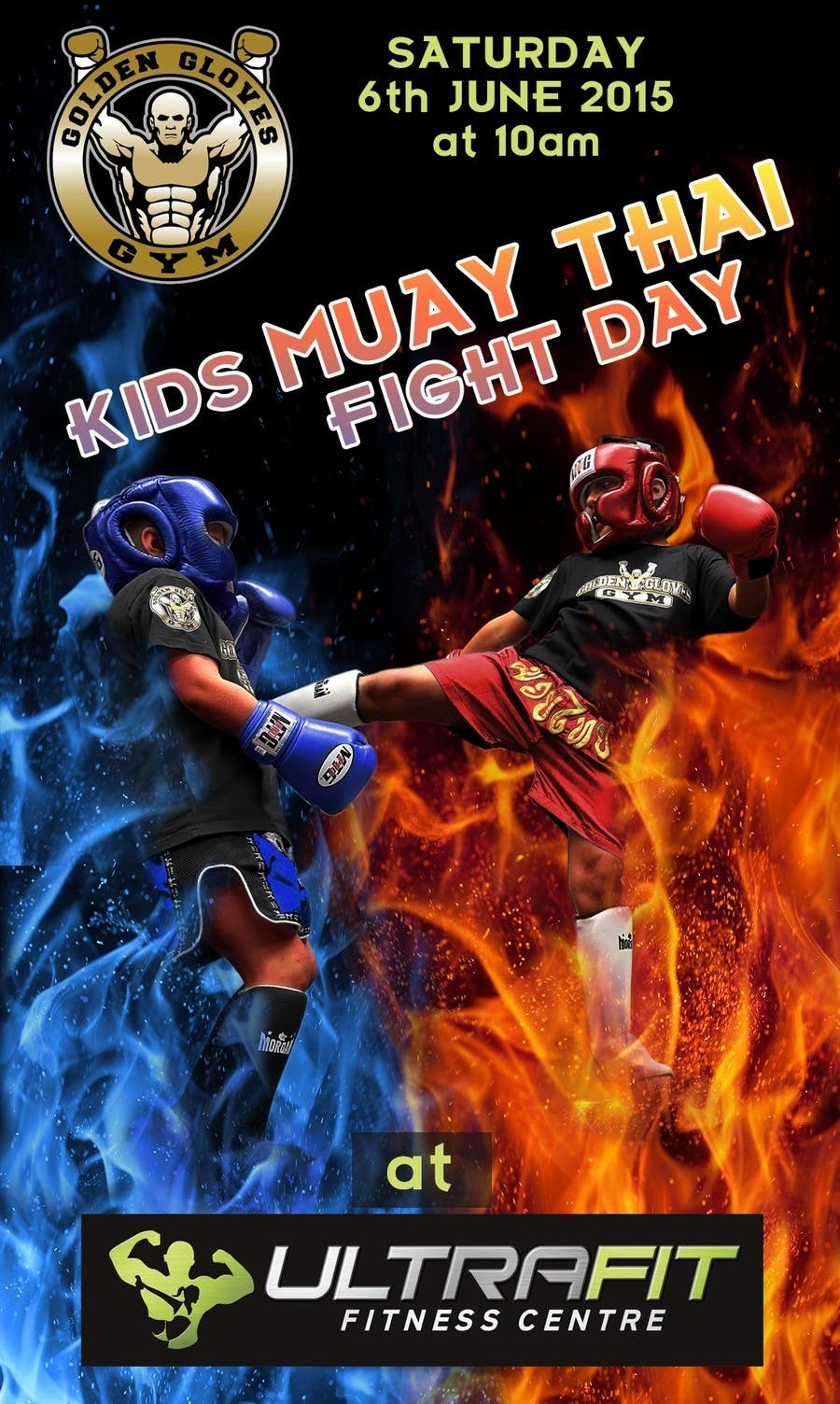 Contest Entry #                                        15                                      for                                         Design a Flyer for KIDS FIGHT DAY