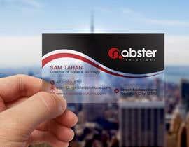 Nro 408 kilpailuun Design transparent business card käyttäjältä habibabgd