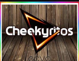 Nro 12 kilpailuun Create a NEW logo that looks like the DORITOS logo but reads CHEEKYRITOS käyttäjältä GCVCDESIGNER