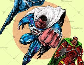 #15 cho Recreate 3 Superheroes - High Quality Photoshop or Illustrator Art bởi v9s2