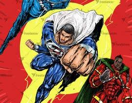 #23 cho Recreate 3 Superheroes - High Quality Photoshop or Illustrator Art bởi v9s2