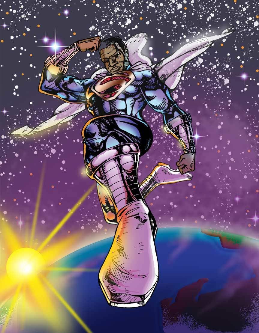 Konkurrenceindlæg #                                        18                                      for                                         Recreate 3 Superheroes - High Quality Photoshop or Illustrator Art