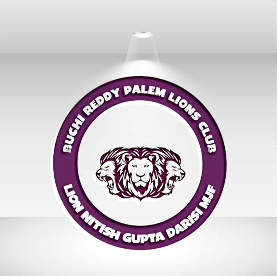Penyertaan Peraduan #                                        54                                      untuk                                         Logo need for Lions club for local team
