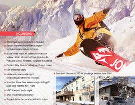 nº 30 pour Design a Flyer for Company Snow Tour par Ollive