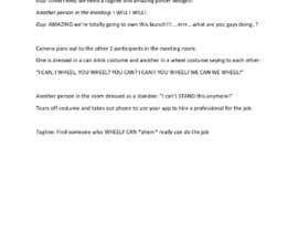 Nro 11 kilpailuun Write a Script for a Viral Video Ad to Attract Buyers käyttäjältä Suzenchong