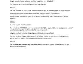 Nro 6 kilpailuun Write a Script for a Viral Video Ad to Attract Buyers käyttäjältä ranime63