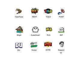 #8 untuk Design some emotes for Twitch.tv.com/gabyspartz oleh TMXDesigns