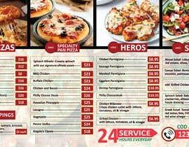 #17 cho Create an Italian restaurant (pizza, etc.) menu to be displayed on a TV bởi MAHIR110