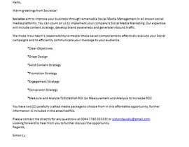 Nro 9 kilpailuun Email Pitch käyttäjältä mvsdj