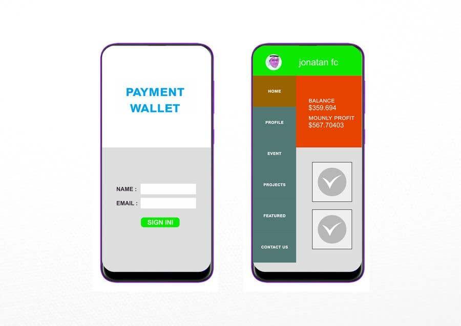 Proposition n°                                        33                                      du concours                                         Design a payment wallet ui