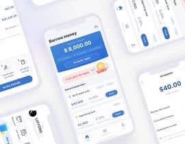nº 52 pour Design Loan app Ui par manishfromdwk