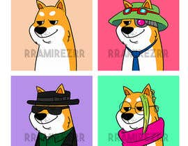 #39 for Illustrate Shiba Inu 2d Avatars using Doge Pound as inspiration for art style by RRamirezR