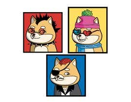 #9 for Illustrate Shiba Inu 2d Avatars using Doge Pound as inspiration for art style by tiaciasingh